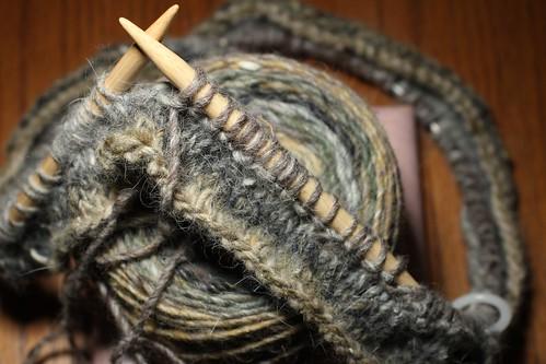 2011-09-29 (Knit) Knit Scarf 1