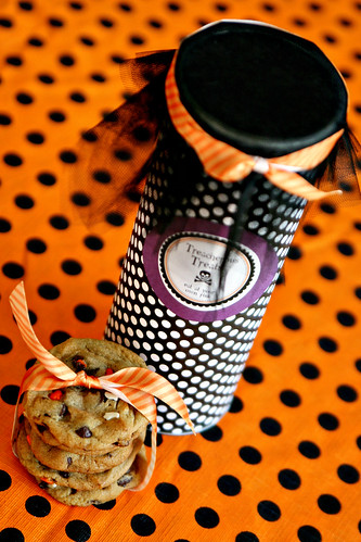 Pringles Can Halloween Craft 1