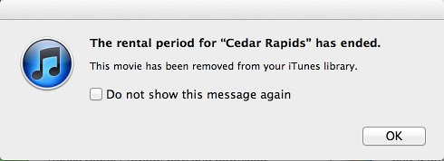 "iTunes: The Rental Period for ""Cedar Rapids"" Has Ended by stevegarfield"