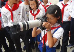 Masterclass with the pioneers - Wonsan North Korea (Eric Lafforgue) Tags: camera canon lens photography war asia zoom north korea asie coree northkorea dprk coreadelnorte nordkorea    coreadelnord   insidenorthkorea  rpdc  kimjongun coreiadonorte