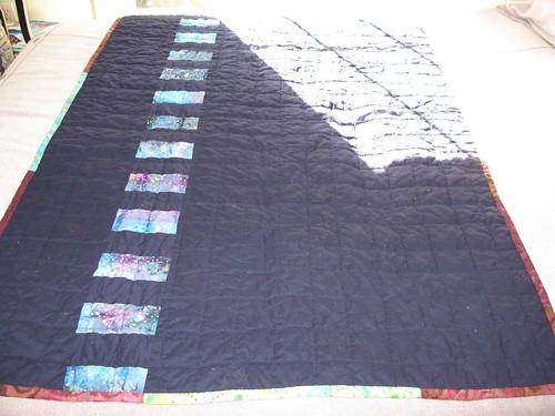 Etana's quilt, back