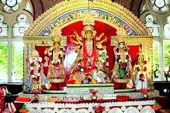 Durga Puja @ London (pallab seth) Tags: uk england london festival community nikon culture happiness celebration tradition hinduism 2009 puja ealing cultural durgapuja bengali nri pujo ealingtownhall londondurgapuja durgapujainlondon bengalee londonsharadutsav