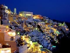 Blue hour in Thira, Santorini (Frans.Sellies) Tags: night geotagged hellas clear santorini greece grecia griechenland grce thira grcia thera griekenland yunanistan grekland kreikka    grkenland grgorszg  ecko          p1360134 geo:lat=364166485 geo:lon=25432447000000025