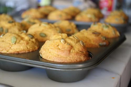 Amazing Pumpkin Muffins