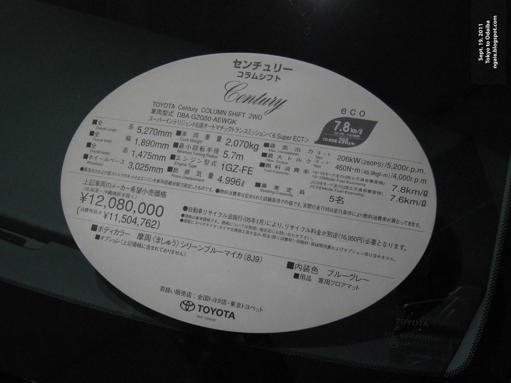 Toyota Megaweb at Odaiba