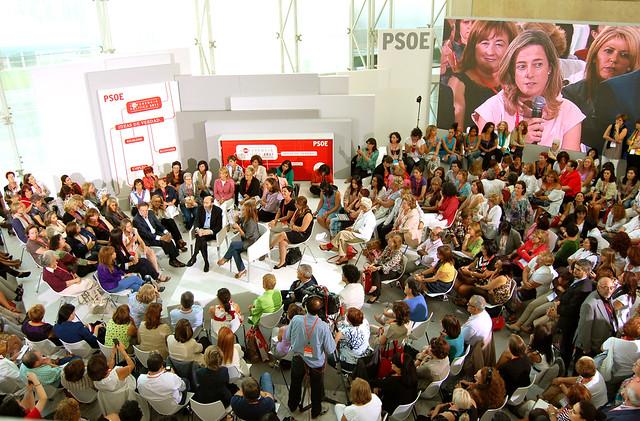 Griñán en la Conferencia Política del PSOE