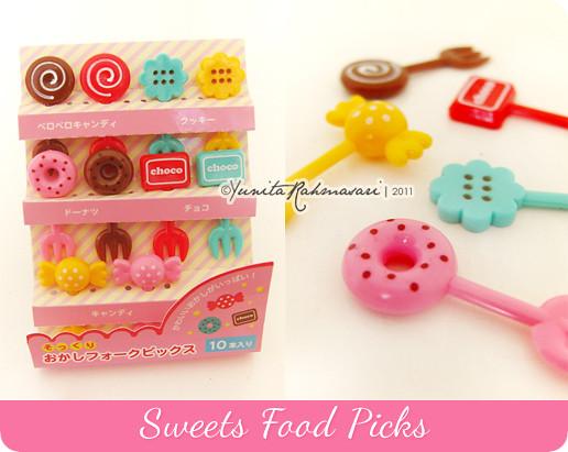 Sweets Food Pick
