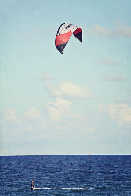 Fort Lauderdale beach kitesurfer 6