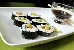Homemade delight (alexwallem) Tags: green sushi homemade wasabi