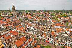 View of Delft (E.K. Park) Tags: holland dutch village thenetherlands delft oudekerk