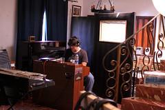 (the real duluoz) Tags: teclado retrato estudio retratos mina persons lamina farfisa instrumentos grabacin rganos