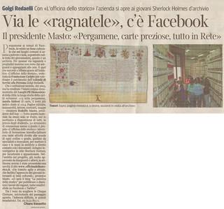 2011-10-02 articolo Corriere della Sera