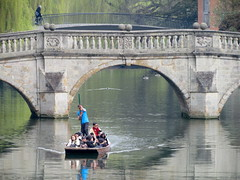 Clare Bridge, Cambridge (twiga_swala) Tags: bridge cambridge england english river university clare britain cam cams british backs punt punts