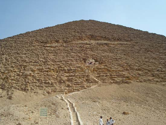 Red Pyramid. Dashur.