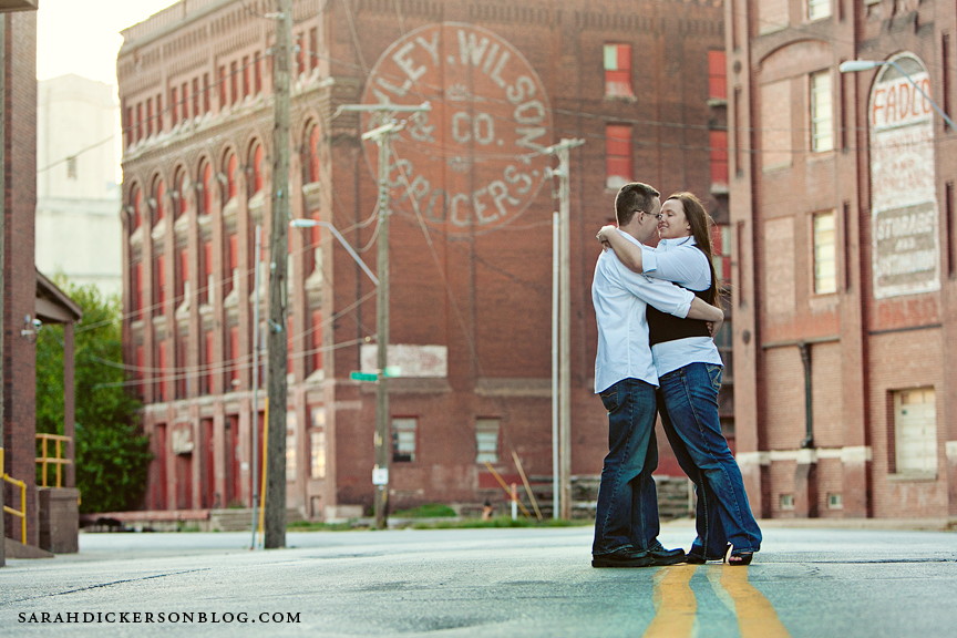 west bottoms kansas city engagement photography
