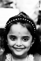 Joy (Anir Pandit's Photo Art) Tags: blackandwhite canon worship glasgow mandir anvi dussehra 500d anirpandit