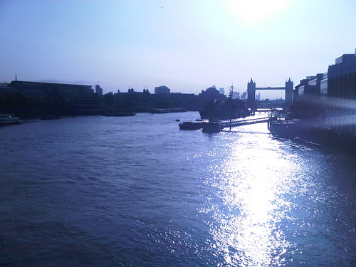 View from London Bridge