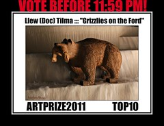 """Llew (Doc) Tilma ::: """"Grizzlies on the Ford"""" ::: ARTPRIZE2011 TOP10 (bitsorf: Thank you 1,500,000 times) Tags: art artists topten grizzlies grandrapidsmichigan artprize2011 llewdoctilma"""