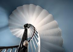 Spiral staircase, Douglas Head Lighthouse, The Isle of Man (iancowe) Tags: lighthouse spiral stair head interior architectural stevenson staircase round douglas isleofman manx northernlighthouseboard nlb lighthousetrek wbnawiman