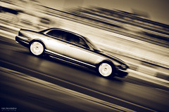 Jag' (Marc Benslahdine) Tags: car voiture route jaguar panning lightroom fil traitement canonef50mmf18ii fichetechnique canoneos5dmkii tripax marcbenslahdine marcopixcom