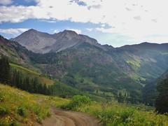 Hagerman & Snowmass from Lead King Basin Road