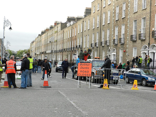 Upper Mount Street, D2 - Ek Tha Tiger location for the day