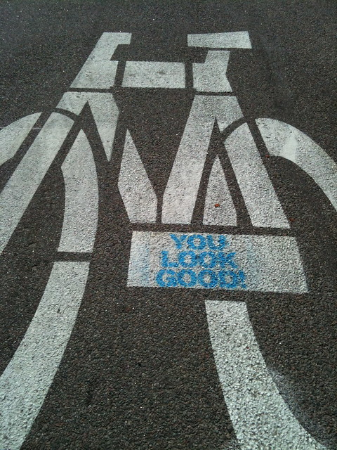 Modified street stencil