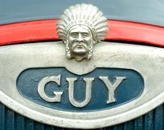 Iconic Guy Badge (colinfpickett) Tags: old guy ford austin bedford 1950s dodge british erf iconic albion leyland classictrucks foden vintagetrucks nameplates