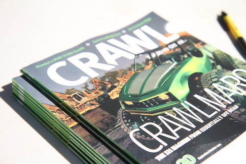 CRAWL Magazine at Off Road EXPO 2011