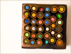 Pencils (Alex_v1.1) Tags: pencils square nikon colours tamron90mm d90 flickrchallengegroup flickrchallengewinner