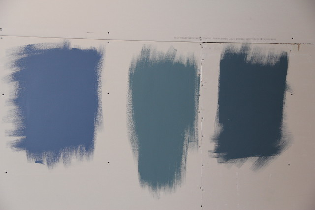 lblue paint samples