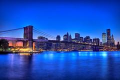Heaven's Cement (Matthew Bohrer) Tags: newyork skyline manhattan brooklynbridge hdr