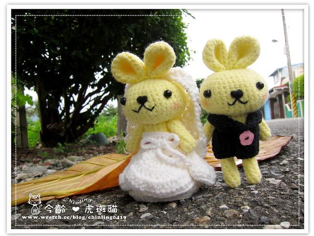 兔子.婚禮娃娃7