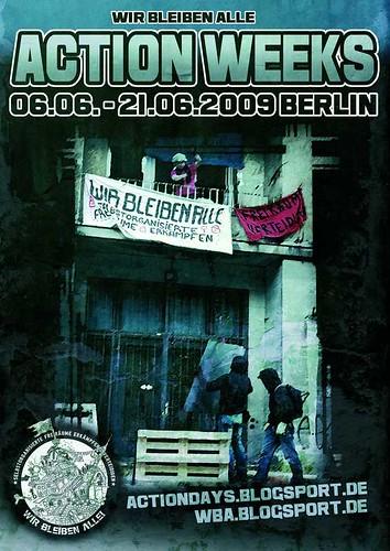 Action Weeks against Gentrification 2009 * Squat Politics *