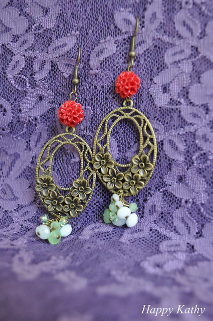 Vintage earrings...