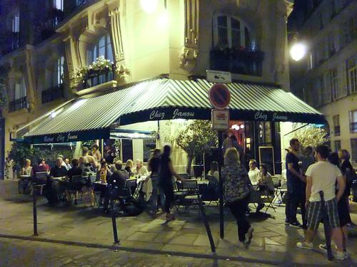 Exterior, Chez Janou