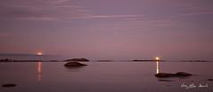 _MG_2893_pano (May Elin Aunli) Tags: nightphotography sunset lighthouse norway night norge natt grimstad nattfoto torungen hasla haseltangen