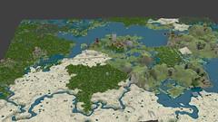 NewWorldAll (Gnu2000) Tags: render blender minecraft mcobj