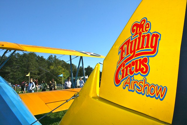 Image of Flying Circus plane