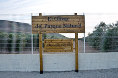 Cartel de la Finca (Grupo Caparrs) Tags: cabo olive aceite oil grupo olivos olivo soldeportocarrero parquenatural caparros gatanijar orodenijar