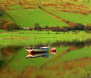 tal-y-llyn lake gywnedd wales