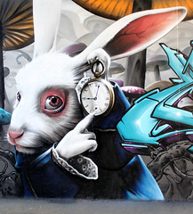 Cambridge (SmugOne) Tags: uk cambridge graffiti smug aliceinwonderland kak smugone infamouslastwords