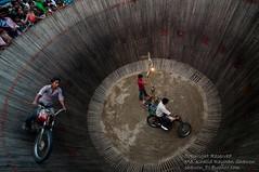 Death Well-III (Taste_of_Cherry) Tags: people game festival death pattern risk ride audience fair well motorbike motorcycle motor dhaka rider bangladesh puja durga risky kup livehood mrittu