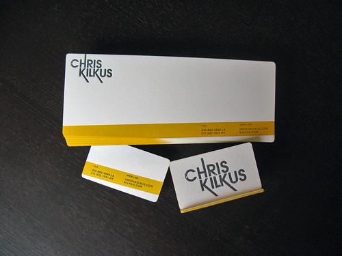 Chris Kilkus Letterpress Suite