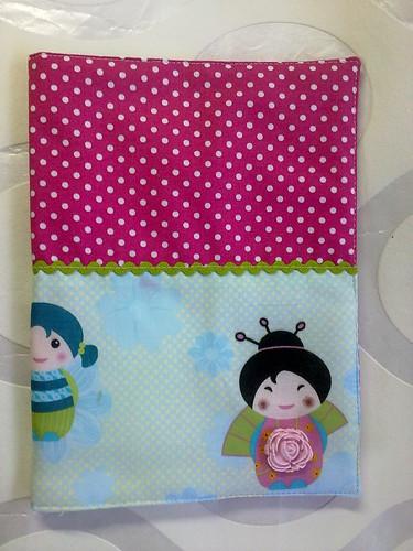 Capa de agenda para Dra Ilda  by ♥Linhas Arrojadas Atelier de costura♥Sonyaxana