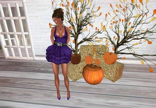 Dress (Halloween) Black/Purple by Cherokeeh Asteria
