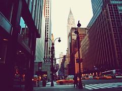 New York (Edmund_Pollard) Tags: christmas street new york people yellow speed america fuji stripes taxi finepix semaphore craspersky