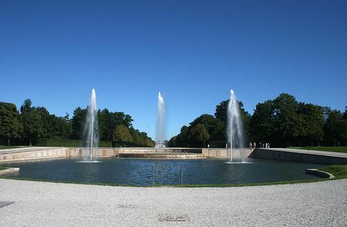 Blick auf den Fontainenbrunnen