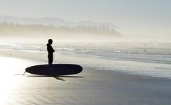 The Surfer (Cory Schadt) Tags: ocean morning beach surfer surfing vancouverisland tofino westcoast nikon2470mm d7000