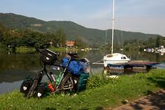 All Along the River (WhatisaSurface.de) Tags: travel people bicycle cycling tschechien menschen adventure experience czechrepublic slovakia bohemia fahrrad touring slowakei reise moravia erfahrung bhmen abenteuer mhren johannesbondzio whatisasurfacede whatisasurface